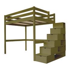 lit mezzanine moderne. Black Bedroom Furniture Sets. Home Design Ideas