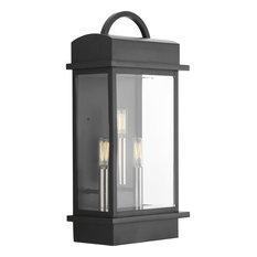 Santee 3-Light Large Wall Lantern, Black