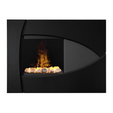 Burbank Trim Surround Opti-Myst Wall-Mount Engine Fireplace