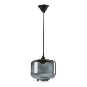 Large Boca Pendant Lamp, Smoke