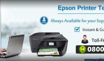 Epson Printer Help Number UK 0800-046-5071