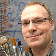 Foto von Kalligrafie und Farbgestaltung Joachim Propfe