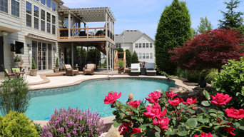 Outdoor Oasis Poolscape in St. Louis