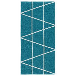 Viggen Woven Vinyl Floor Cloth, Blue, 150x200 cm