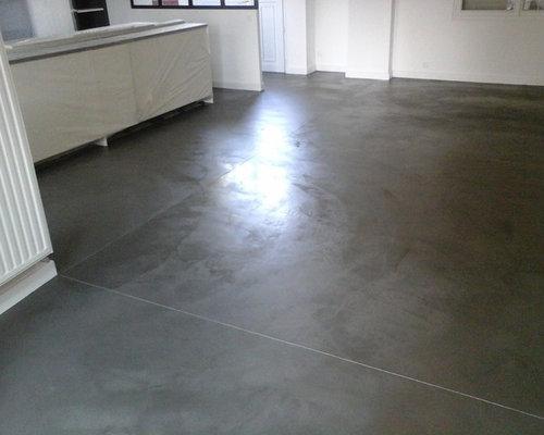 rénovation sol béton ciré - Produits