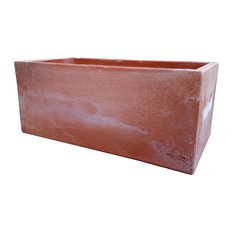 Antea Large Outdoor Plant Pot, Terracotta