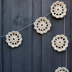 - Cotton Garland - Wreaths and Garlands