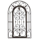 Paragon - Secret Garden Gate Wall Sculpture, 9857 - Let it pop! Wall art is great, but what do you do when you want to bring the wall out a bit further? Produced by Paragon, this Secret Garden Gate will not only give your wall space interesting depth, but will become an easy focus in any room.