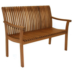Traditional Outdoor Benches by Outdoor Interiors