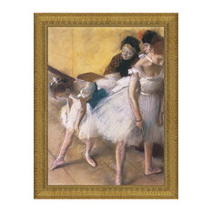 """""""Before the Rehearsal 1880"""" Stretched Canvas Replica, 32""""x41"""""""