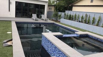 Modern Pool & Jacuzzi