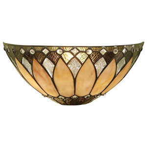 Brooklyn Art Deco 40 W Wall Sconce