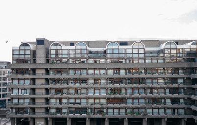 世界のHouzzから:ブルータリズム建築の名作《バービカン・エステート》の住み心地