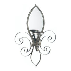 Mirrored Wall Sconce mirrored wall sconces | houzz