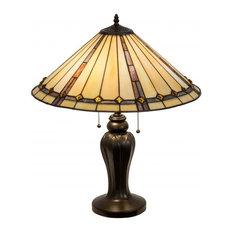"Meyda Tiffany 184912 24""H Belvidere Table Lamp"