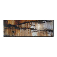 "Abstract Modern Fine Art Limited Edition Giclee, ""Enrapture"" 72"""