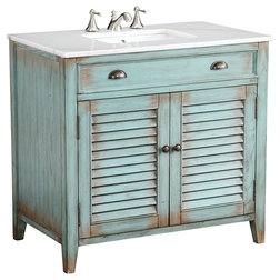 Farmhouse Bathroom Vanities And Sink Consoles by Modetti USA LLC