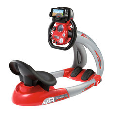 Charles Bentley & Son Ltd - Smoby Children's Driving Simulator Seat Real Sound Mobile Application Game - Children's Toys & Games