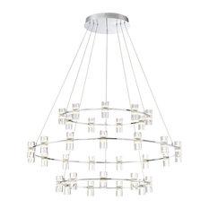 Eurofase Lighting 33726-014 Netto Chandelier, Chrome