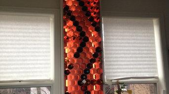 Custom LED Backlit WineHive® Modular Wine Rack Cellar