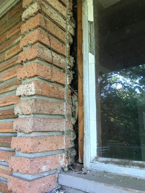 Replacing Windows In Brick Veneer