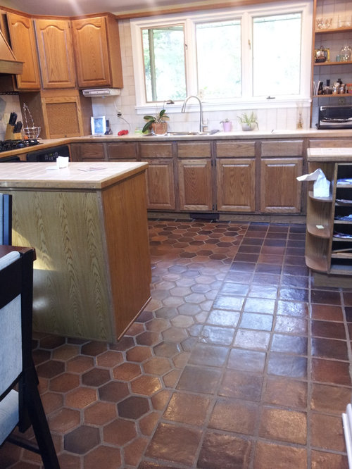 Does Anyone Have Regrets About Doing Carpet Tile In The Kitchen