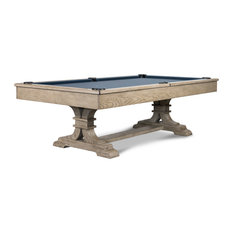 Ella 8' Slate Pool Table w/ Premium Billiard Accessories