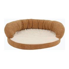 Orthopedic Sleeper Bolster Bed, Saddle, Small