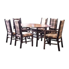 Flat Rock Furniture - Flat Rock Berea Oval Dining Table - Dining Tables