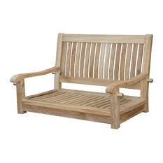 "Del-Amo 36"" Straight Swing Bench"