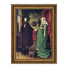 """The Arnolfini Marriage 1434"" Stretched Canvas Replica, 28""x36.5"""