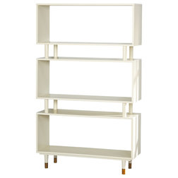 Midcentury Bookcases by The Mezzanine Shoppe