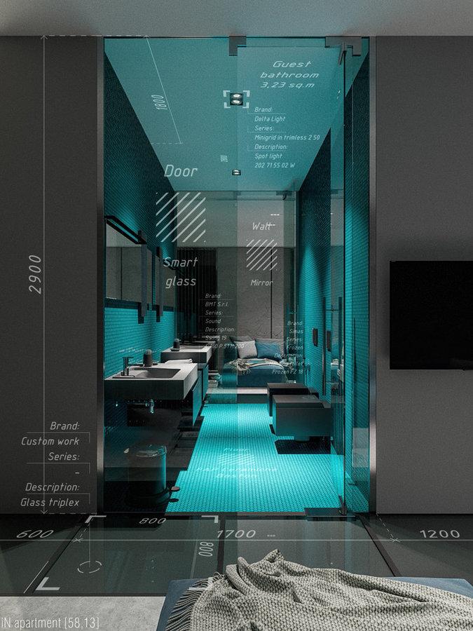 iN apartment [58,13]