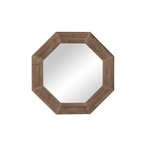 Make a bold statement with this unique Granby Wall Mirror. Featuring a stunning design and beautiful driftwood gray color, this mirror can liven up any space. Perfect for a rustic style home, this 48 inch by 48 inch mirror is sure to catch your eye in any room. Bassett has been America\'s first name in home furnishings since 1902, when first opened on the eastern slopes of the Blue Ridge Mountains of Virginia. Four generations later, Bassett Mirror is still a family owned business that keeps value in style and makes more than mirrors that are worth looking into! In addition to mirrors, we have fine art and decorative lamps. Our furniture portfolios include living room tables, accent furniture, dining sets and mirrored furniture collections.