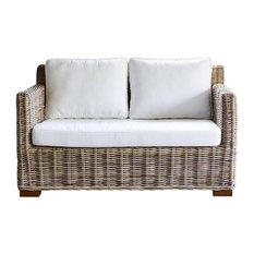 Kubu Rattan 2-Seater Sofa