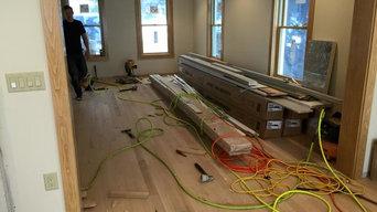 Installation, Sanding, and Finishing