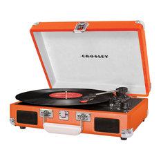 Cruiser Suitcase Turntable, Orange