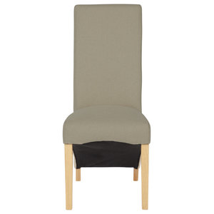 Hammersmith Plain Dining Chair, Natural