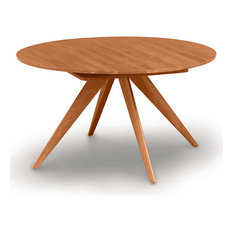 Catalina 48/72-inch Extension Round Table By Copeland Furniture Natural Cherry