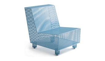 Half 13   Chair No. 35 Blue