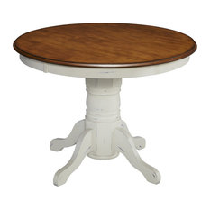 Residence   Rudo Round Dining Table, White   Dining Tables