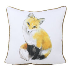 "Foxtail Indoor/Outdoor Pillow, 16""x16"""