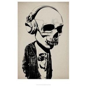 """Bobblehead"" Art Print by Hidden Moves, 70x100 cm"