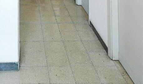 Prima e Dopo: «Perché Ho dipinto il Pavimento del Mio Corridoio»