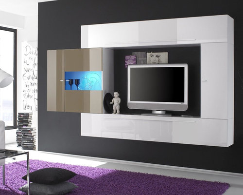 Beau Modern Italian Wall Unit Primo A Sand   $1,222.00   Entertainment Centers  And Tv Stands