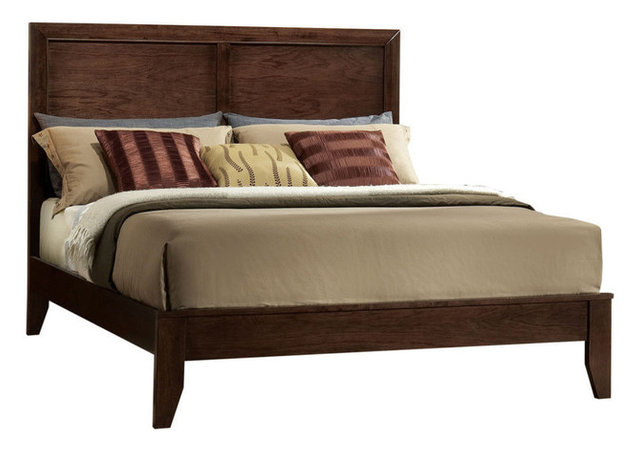 Acme Madison Queen Bed Espresso Transitional Panel