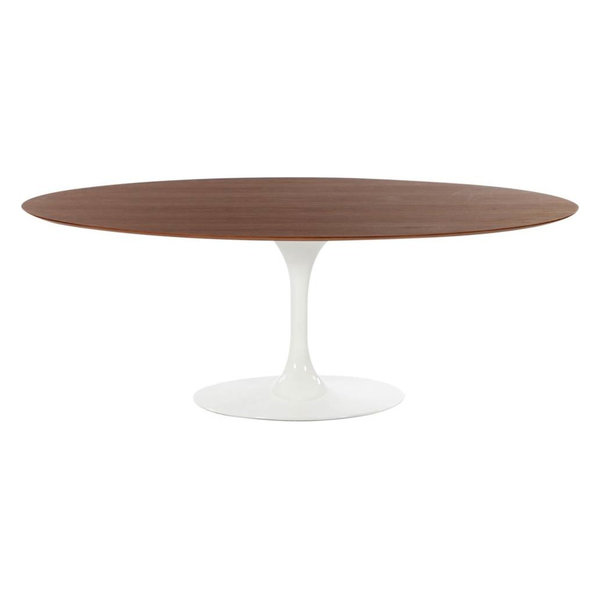 Contemporary Oval Dining Table