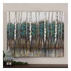 """Uttermost """"Edge of the Forest"""" Canvas Art, 51""""x40"""""""
