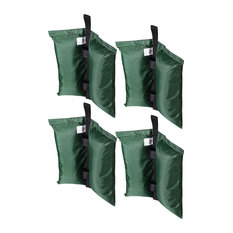 4 Pcs Weight Sand Bag for Outdoor EZ Pop Up Canopy Instant Tent Gazebo Green