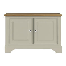 Somerdale Display Cabinet Base Unit, Limestone